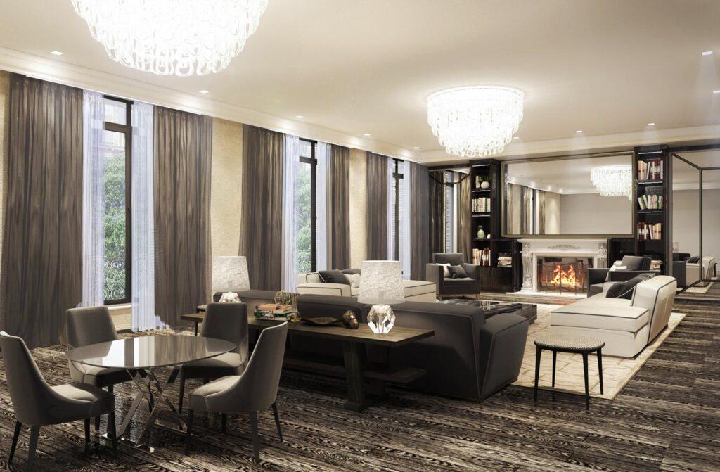 Intnow Projects - Paris Penthouse restyle -_
